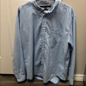 Men's XL Tommy Hilfiger Button Up Shirt